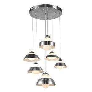 Lampy oświetlenie - ANTILIA LED 1902126-6P CH Italux