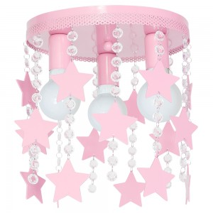 ELZA GWIAZDKI pink 9751 Luminex