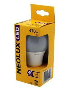 NEOLUX LED 6w E27 CLA6W/827 OSRAM