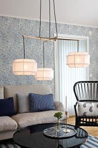Lampy oświetlenie - CORSE Gold/Black/White 105710 Markslojd