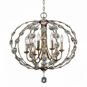 LEILA burnished silver FE/LEILA6 Feiss