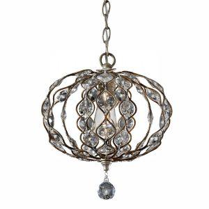 LEILA burnished silver FE/LEILA1C Feiss