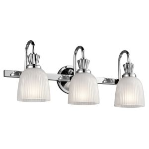 CORA Led polished chrome KL/CORA3 BATH Kichler