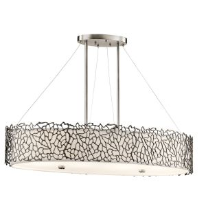 SILVER CORAL classic pewter KL/SILCORAL/ISLE Kichler